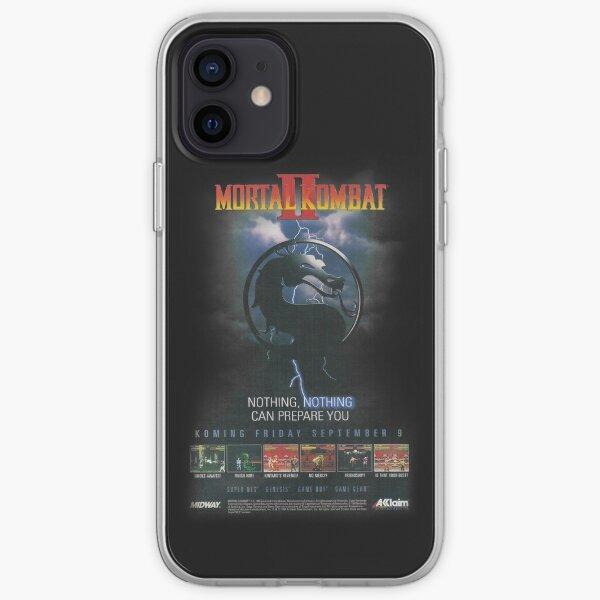 VINTAGE Mortal Kombat II  iPhone Soft Case