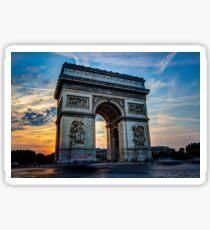 Arc De Triomphe 3 Sticker