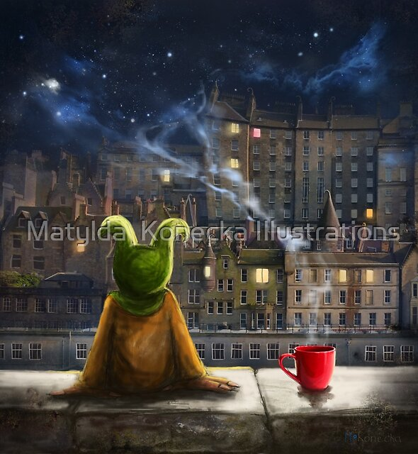 'The Mist Maker' by Matylda  Konecka Illustrations