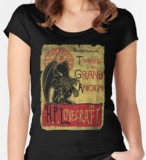 Tournee du grand ancien Women's Fitted Scoop T-Shirt