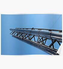 steel truss Poster