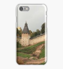 Towers and walls of the old Pskov fortress iPhone Case/Skin