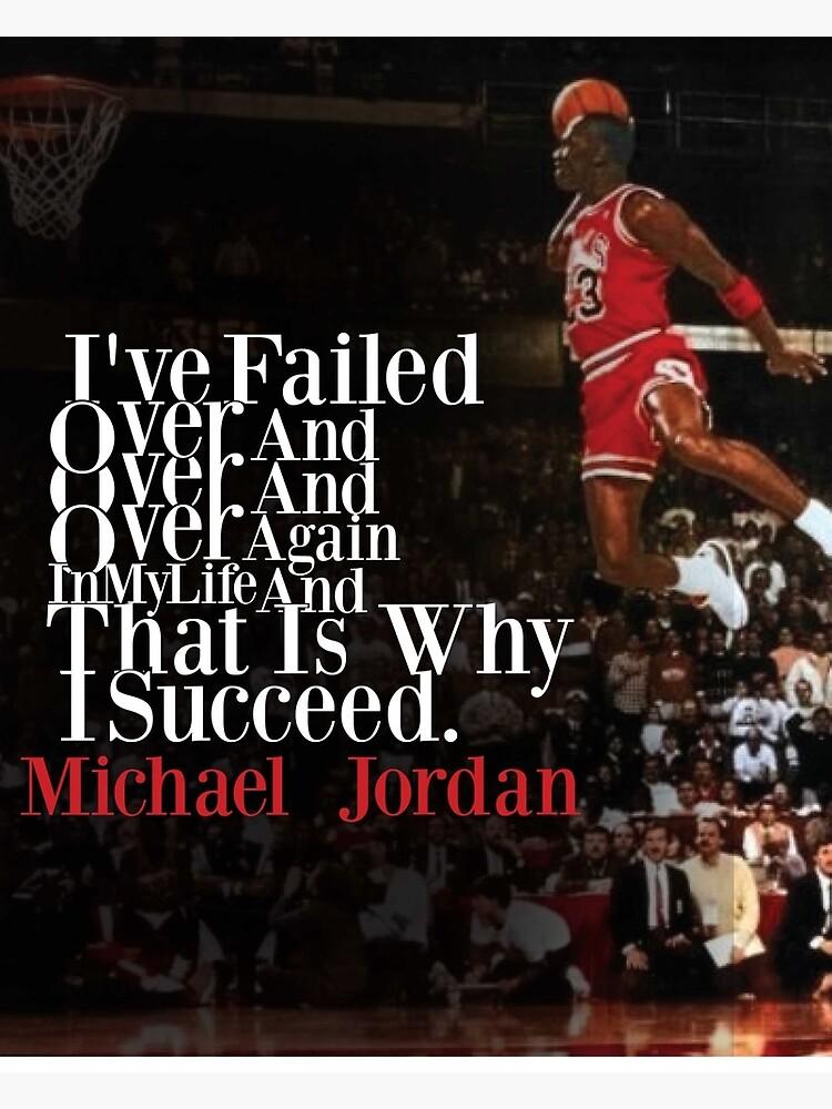Michael Jordan Quote | Greeting Card
