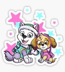 Paw Patrol Girls Sticker