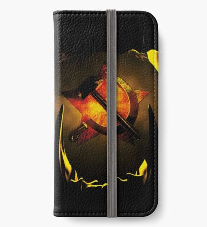 hammer and sickle iPhone Wallet