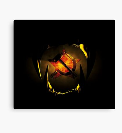 hammer and sickle Canvas Print