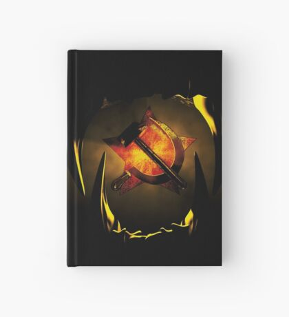 hammer and sickle Hardcover Journal