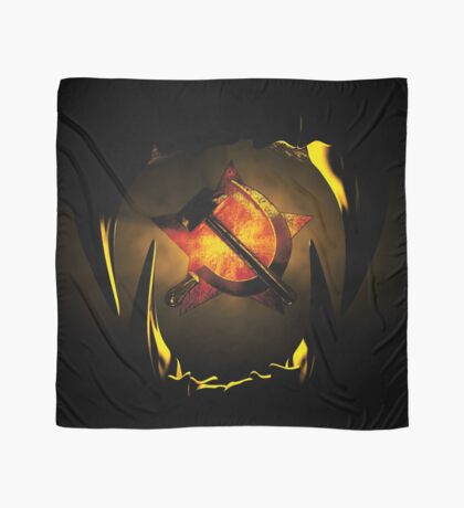 hammer and sickle Scarf