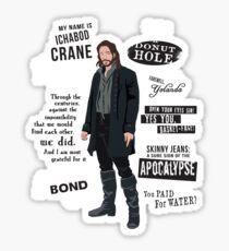 Ichabod Crane Sticker