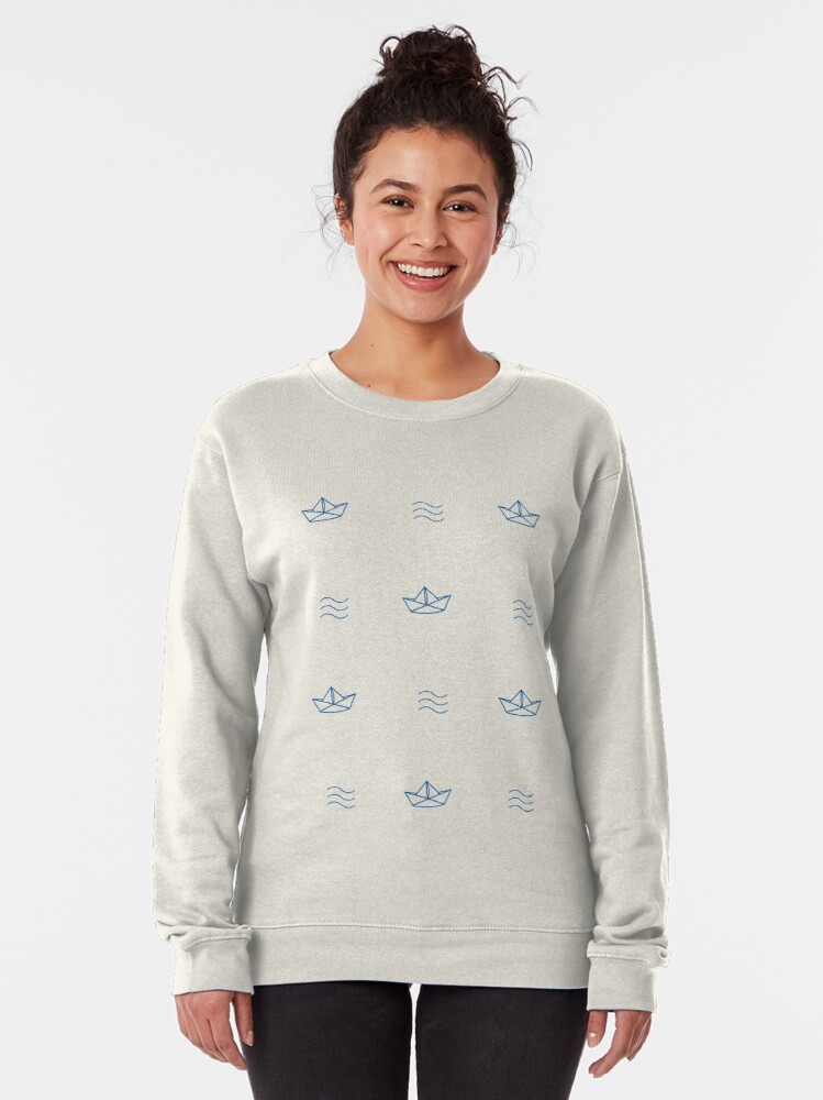 Alternate view of Out to sea Pullover Sweatshirt