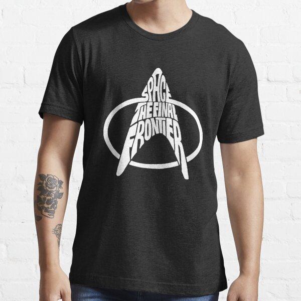 Star Trek Space The Final Frontier White Essential T-Shirt