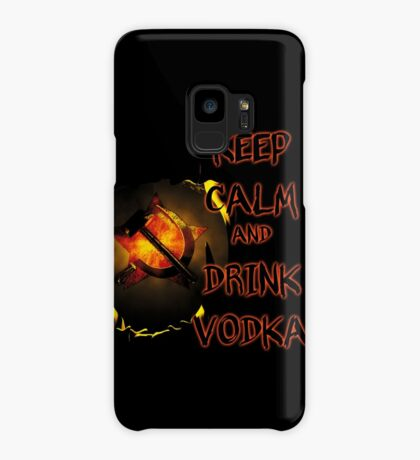 keep calm and drink vodka Case/Skin for Samsung Galaxy