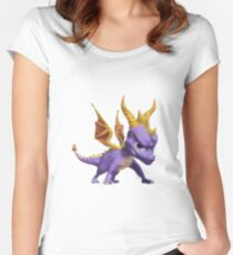 Spyro Voxel Women's Fitted Scoop T-Shirt