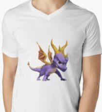 Spyro Voxel Men's V-Neck T-Shirt