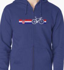 Bike Stripes Croatia Kapuzenjacke