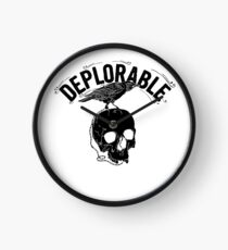 deplorable Clock