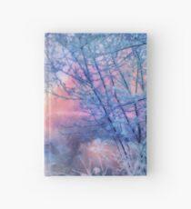 Winter evening Hardcover Journal
