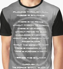 The Gray Jedi Code  Graphic T-Shirt