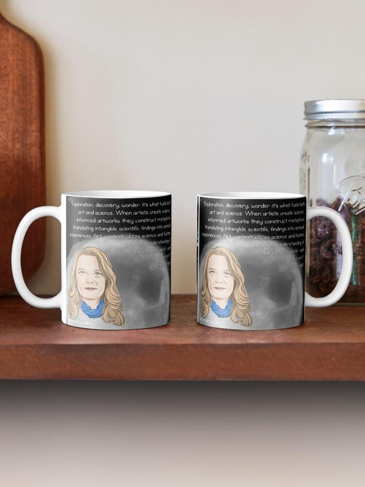 Alternate view of #SciComm100: Bettina Forget Mug