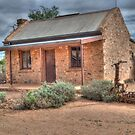 Miner's Cottage, Silverton, NSW by Adrian Paul