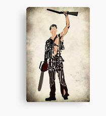 Ash - The Evil Dead Canvas Print