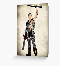 Ash - The Evil Dead Greeting Card