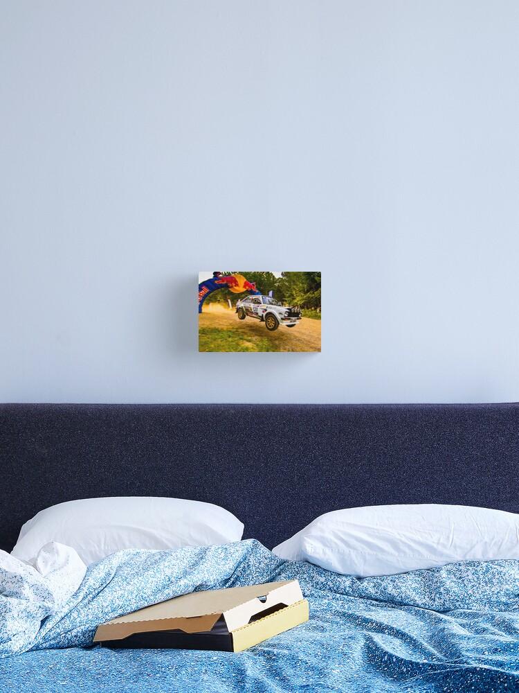 MK2 Ford Escort 30x20 Inch Canvas Framed Picture Print Artwork