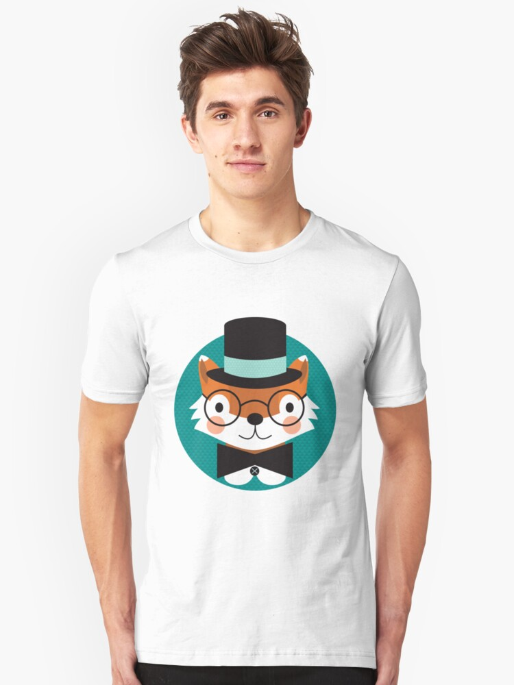 Top Hat Fox by Natalie Marshall