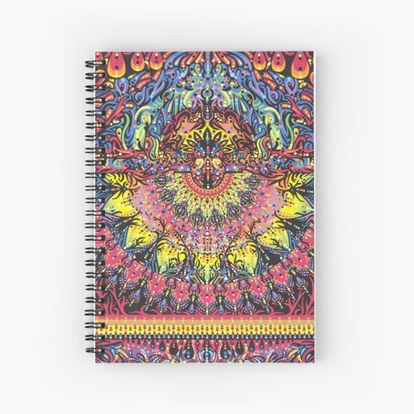 Incandescent Dance Spiral Notebook