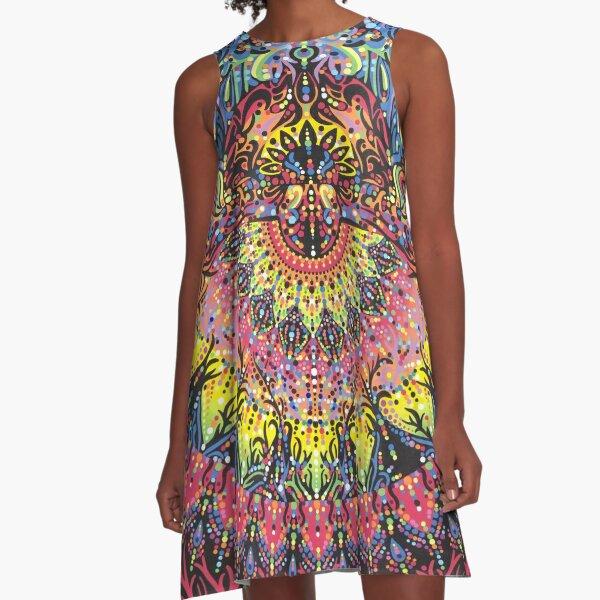 Incandescent Dance A-Line Dress