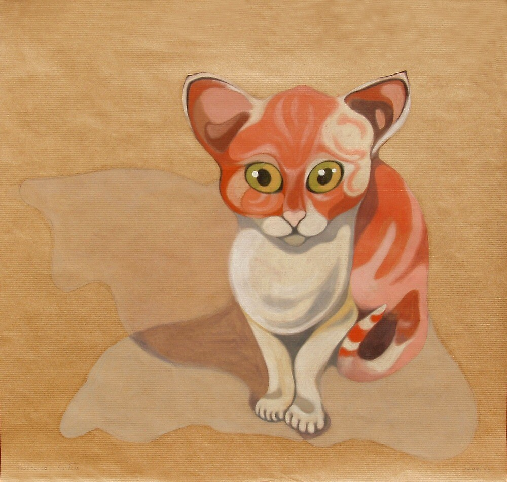 Red cat by federico cortese
