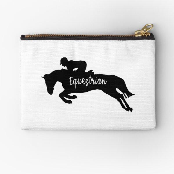 Equestrian Silhouette  Zipper Pouch