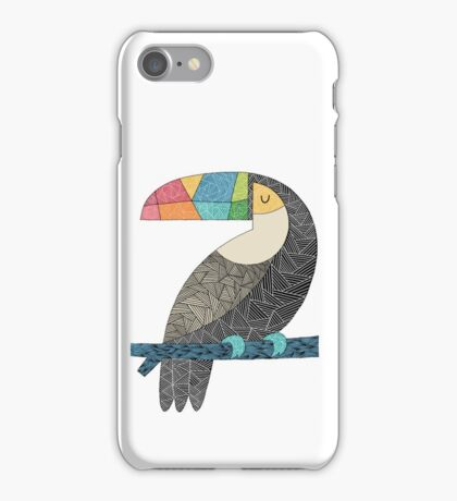 Tucan chilling iPhone Case/Skin