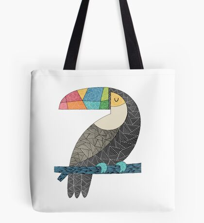 Tucan chilling Tote Bag