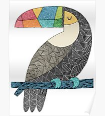 Tucan chilling Poster