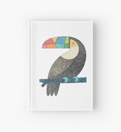 Tucan chilling Hardcover Journal