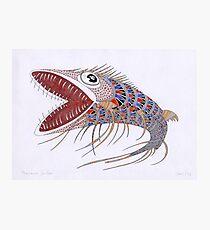 Shark fish  (original sold) Photographic Print