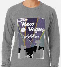 Vintage New Vegas Skyline Leichter Pullover