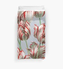 Tulipomania - The Semper Augustus Duvet Cover