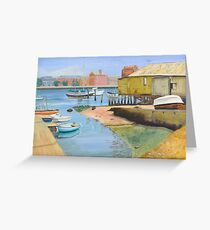Port Adelaide Sailing Club - McLawrie's Boat Shed - 2004 Greeting Card