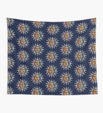 Celestial Mosaic Sun/Moon Wall Tapestry