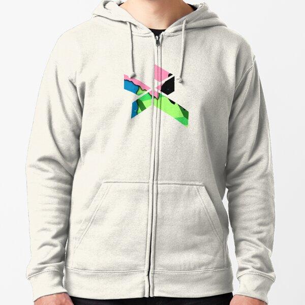 daniel ricciardo logo Zipped Hoodie