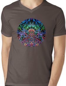 Mandala Energy Mens V-Neck T-Shirt