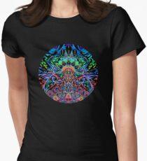 Mandala Energie Tailliertes T-Shirt