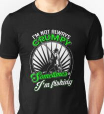 Funny Grumpy Fishing Shirt T-Shirt