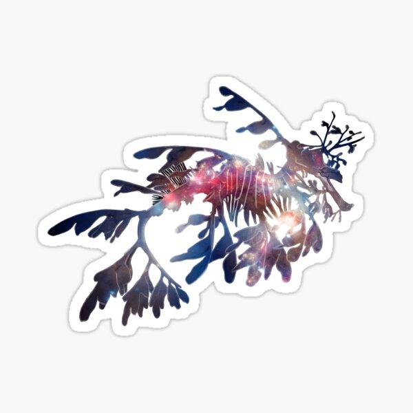 Galaxy Leafy Seadragon Sticker