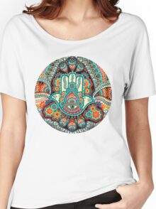 Hamsa Hand Women's Relaxed Fit T-Shirt