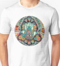 Hamsa Hand Slim Fit T-Shirt