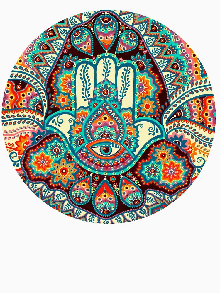 Hamsa Hand by kimisadanaga