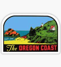 The Oregon Coast Vintage Travel Decal Sticker